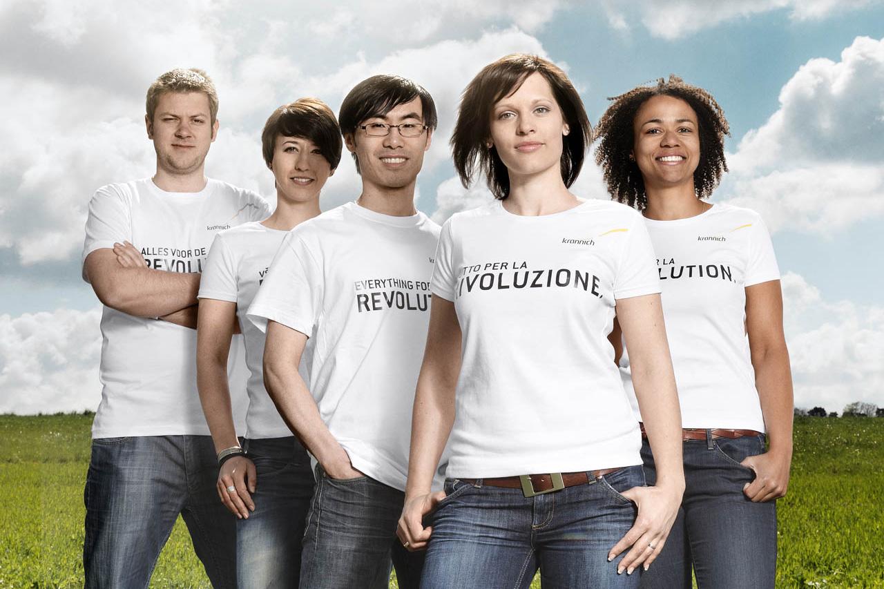 Team Gruppenbild Unternehmensfotografie