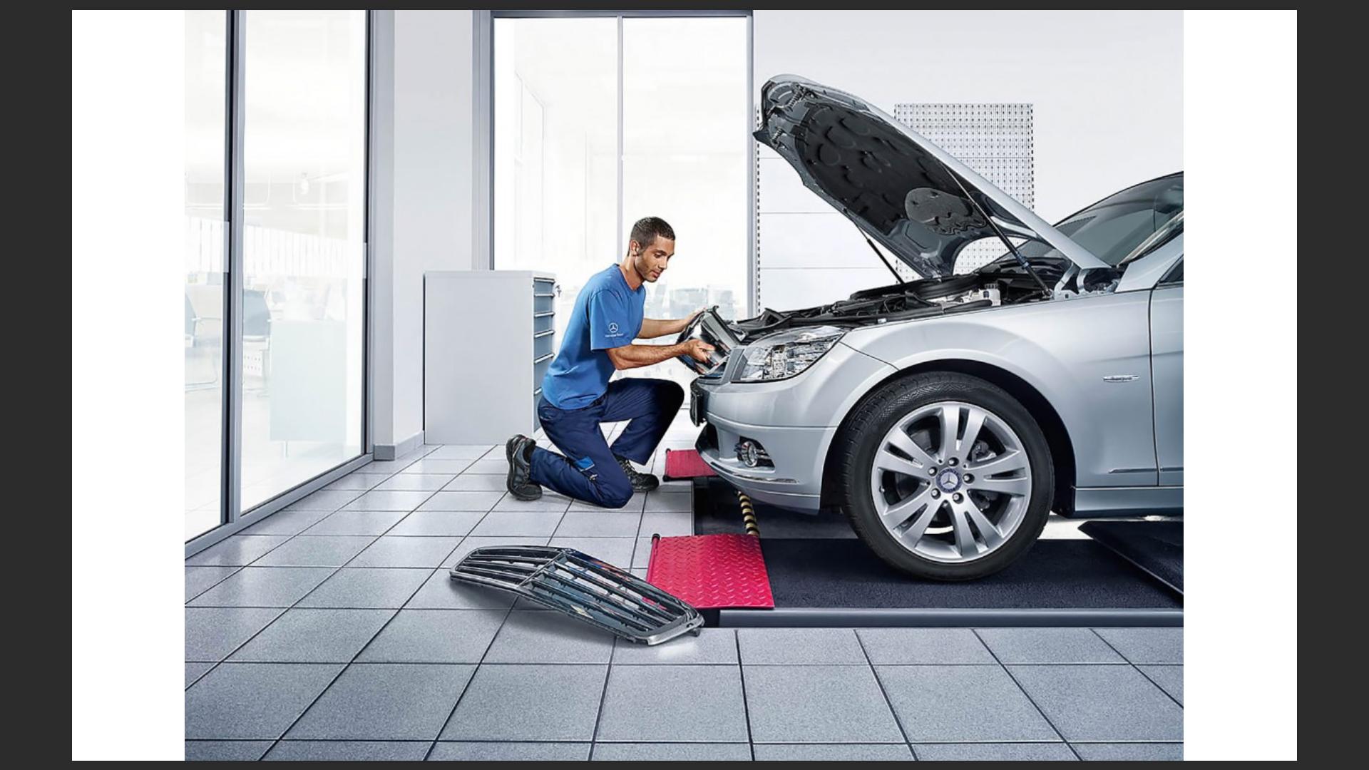 Mercedes Benz GSP Werbekampagne