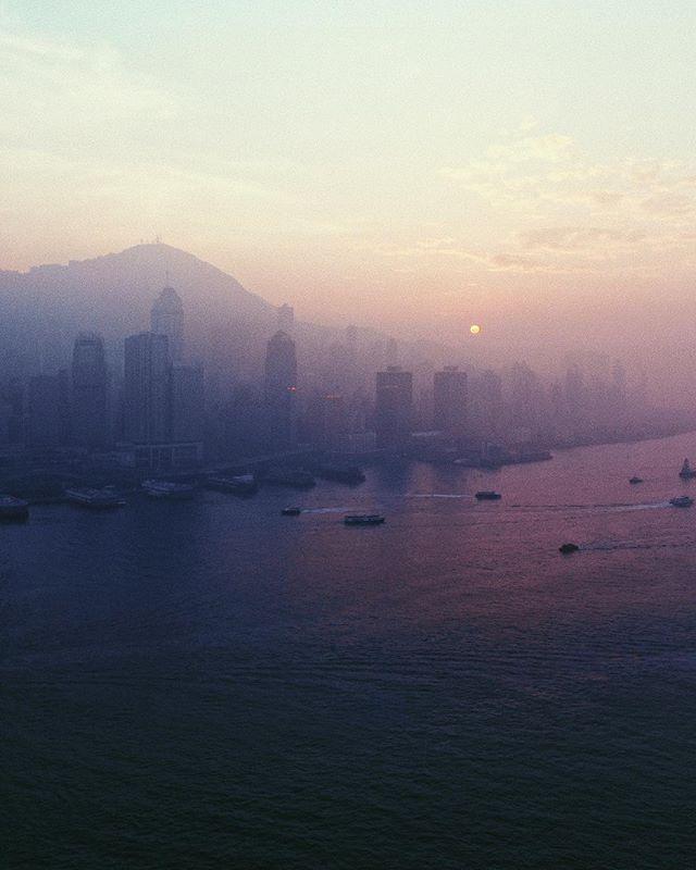 haze // #hongkong #skyline #sunset #haze #purple #light #view #tones #colors #photography #aerialphotography #droning #dji #mavic2pro #travelphotography #asia #natgeotravelpic #landscapephotography