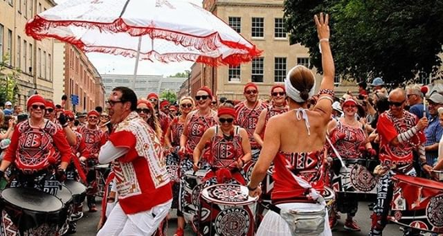 This year, we delivered the crowd management and safety for @StPaulsCrnvl working with and supporting the Carnival team through all phases of the event from design and pre-planning to on site delivery. This iconic Bristol event attracts approx. 100,000 people for it's awesome procession and music stages. #Bristol #eventprofs⠀ Photo credit Its.Just ART Media @itsJust.ART_media