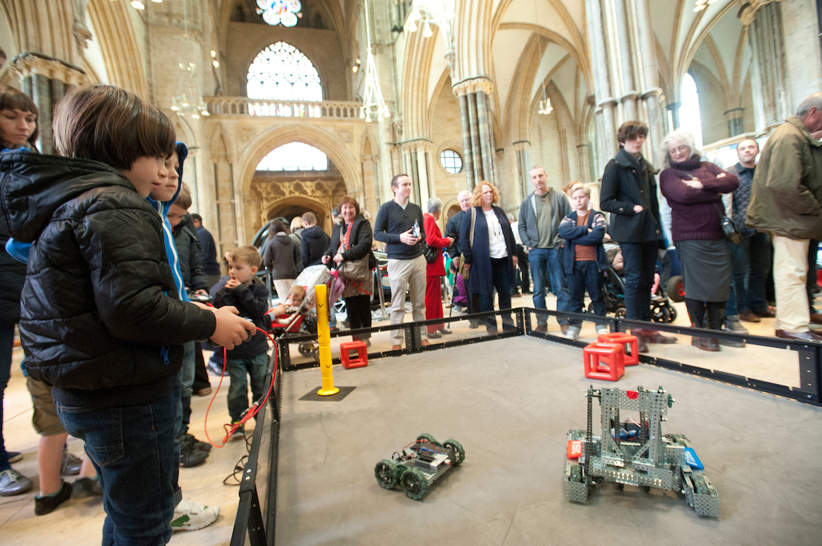 Driving robots!