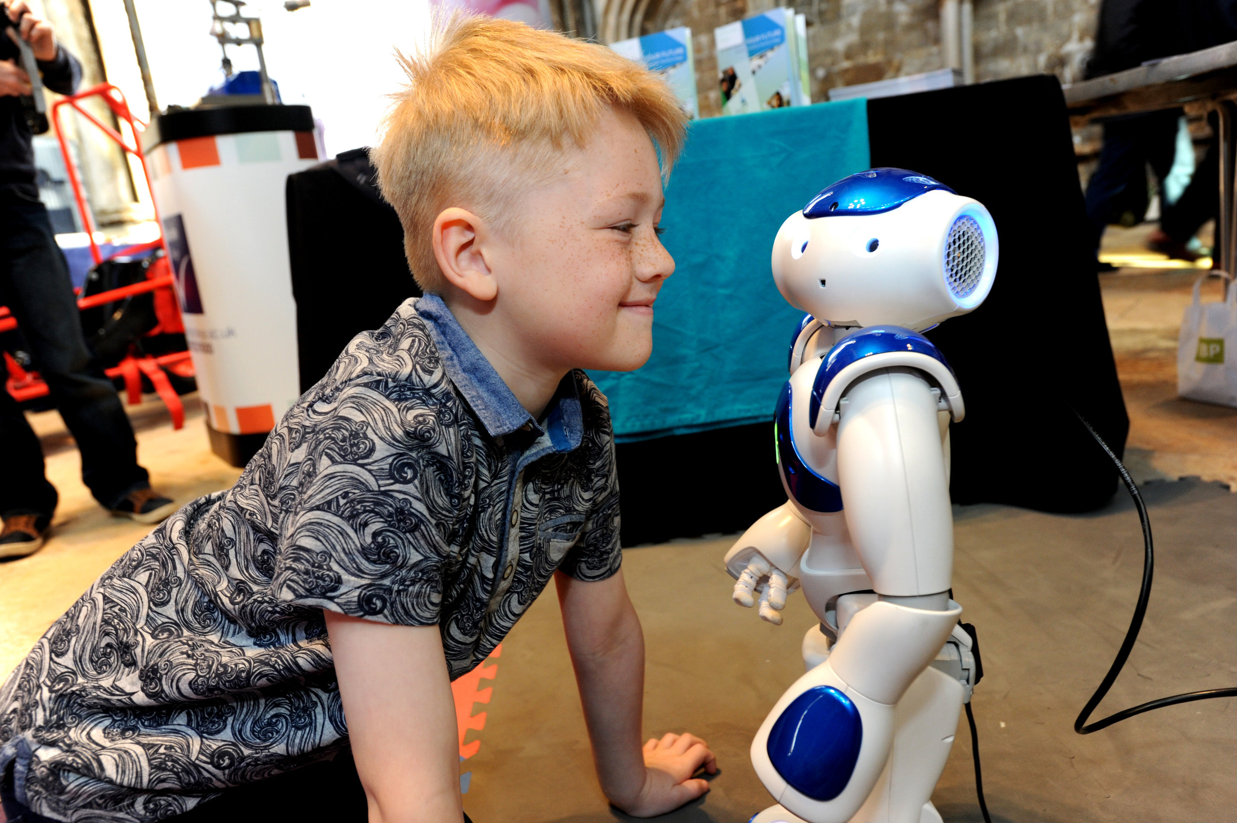 Interacting with Mr Nao the robot