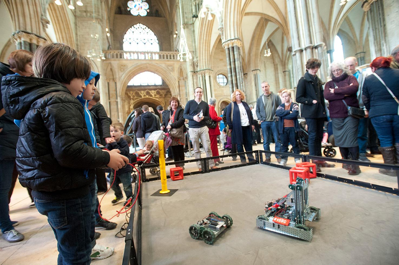 Driving Robots