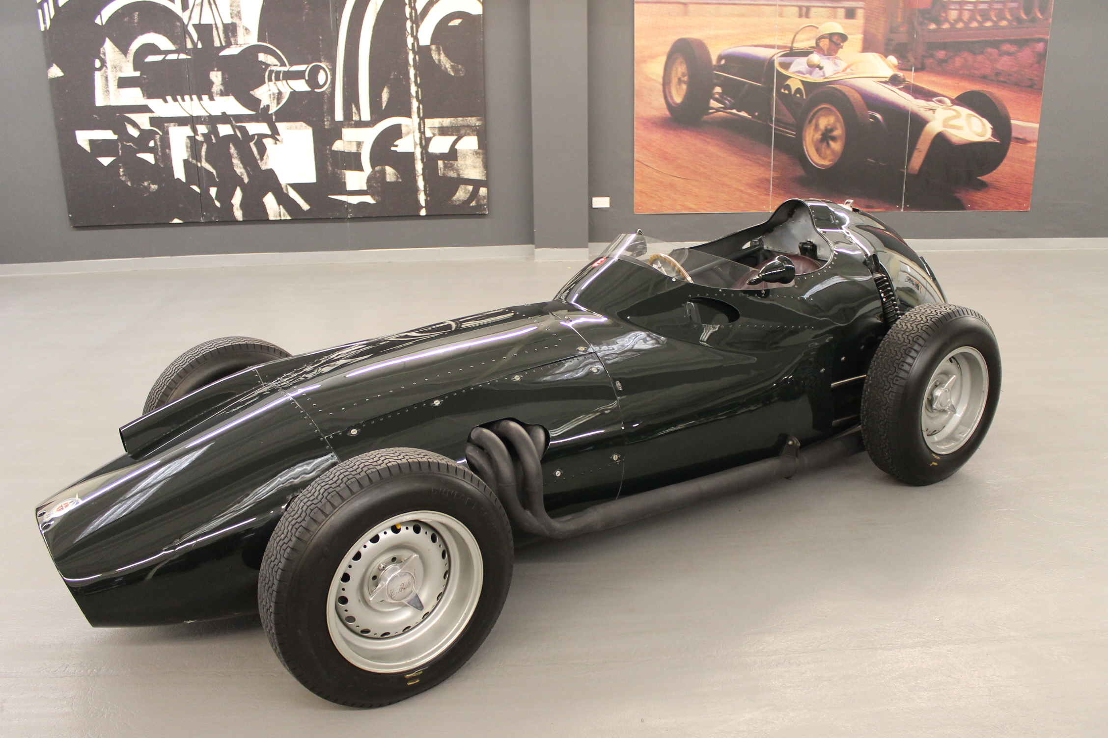 BRM P25 1958 F1 car from Bourne, Lincs