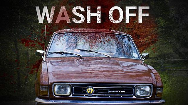 WASH OFF - Out Now!! Our latest short film is ready for your viewing pleasure! Sit down. Make a Tea... and enjoy. - Link in Bio • #finish #youtube #shortoftheweek #filmphoto #vimeo #film #filmphoto #filmmaker #filmmaker #action #actorslife #actor #director #digitalart #austin #allegro #classiccars #classic #movies #filmphotography #filmfestival #colour #vfx #sfx #makeup #stunt #drive #cars #crash #fun #dark #comedy
