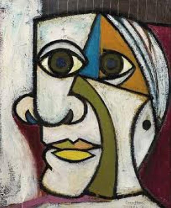 The Retrato de Dora Maar, Pablo Picasso 1936