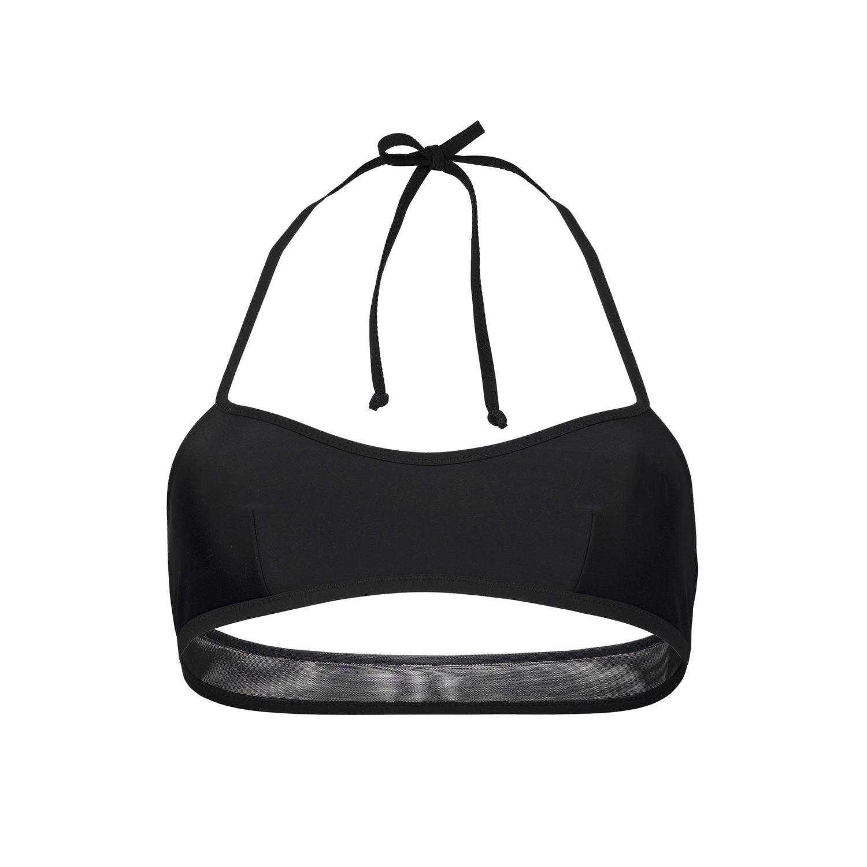 factory price bd57e f02cf UND Swimwear — IL NOVE NERO-NERO bikini top