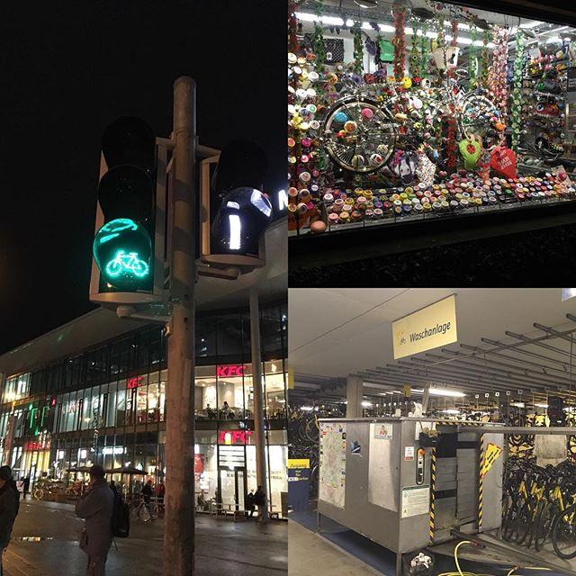 Le magasin à sonnette et la station de lavage vélo