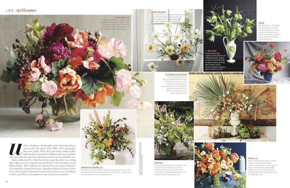Denise Fasnanello Flowers - Feature by Veranda - January 2018 - Story Spread - 1000px.jpg