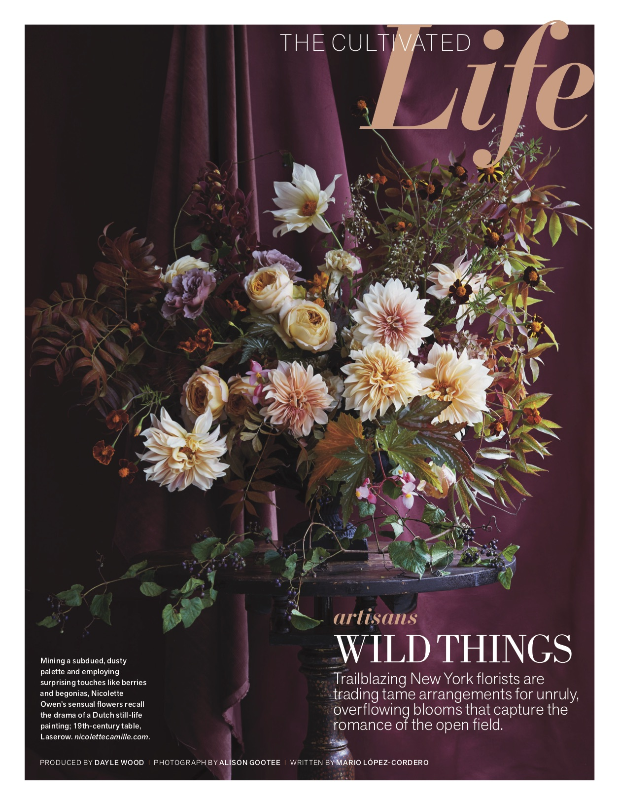 Denise Fasnanello Flowers - Feature by Veranda - January 2018 - Story Cover.jpg