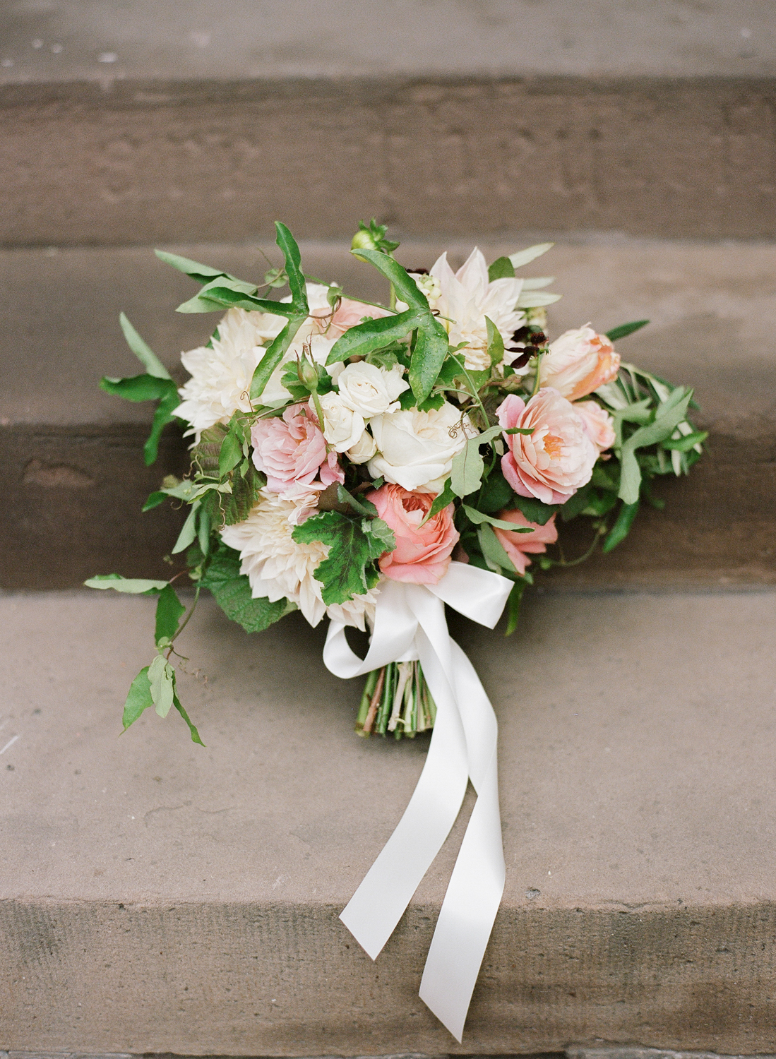 Old World NYC Wedding at the Highline Hotel - Flowers by Denise Fasanello Flowers - Photo by Heather Waraska 1.jpg
