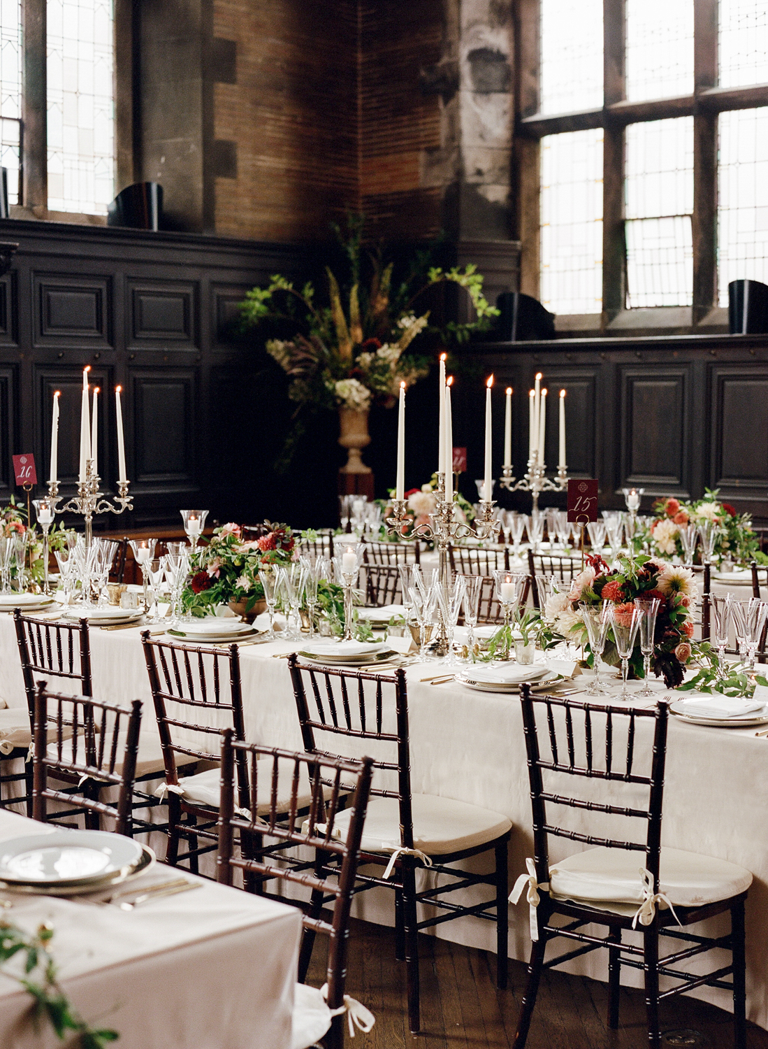Old World NYC Wedding at the Highline Hotel - Flowers by Denise Fasanello Flowers - Photo by Heather Waraska 17.jpg