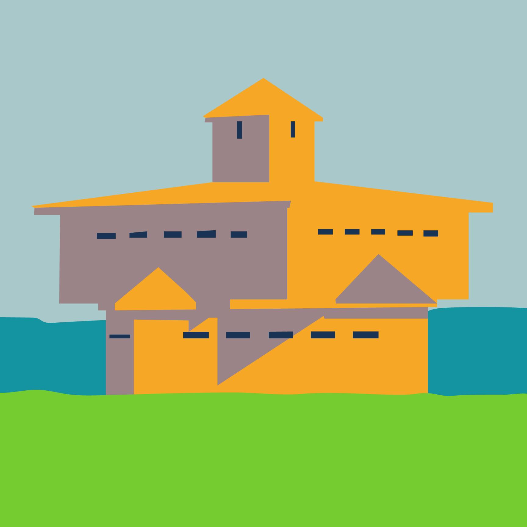 Fort Abraham Lincoln Blockhouse