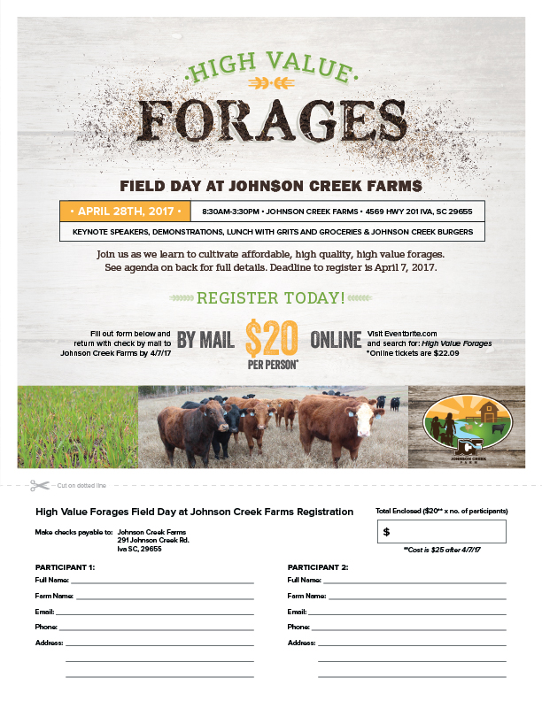 High Value Forages