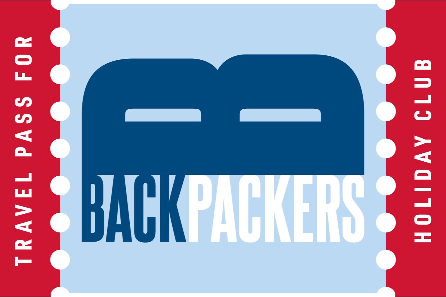 Logo for Backpackers holiday club