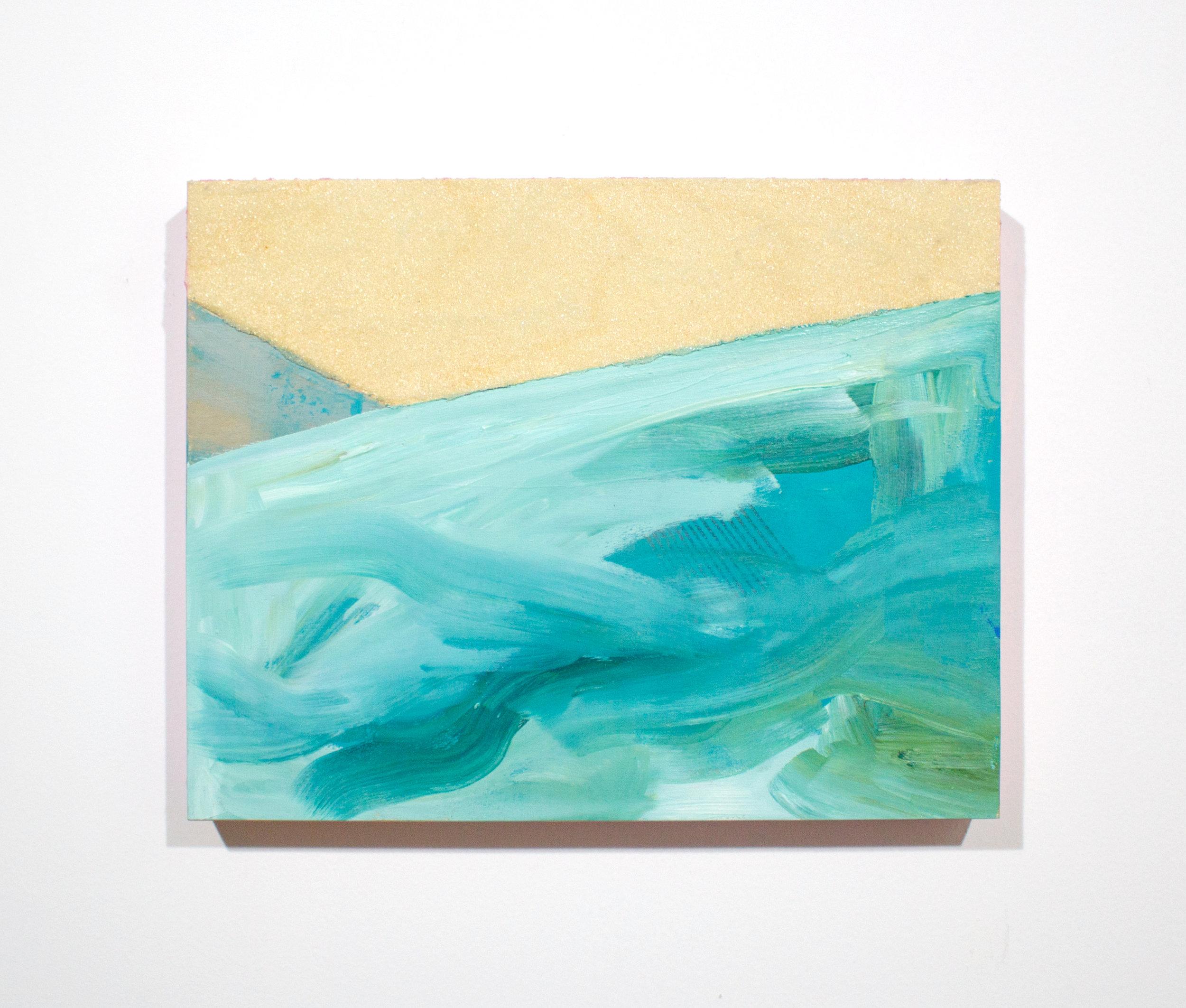 untitled 2 , 2012, tecnica mista su tavola,27 x 35 cm