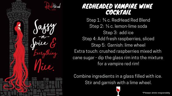 RedHeaded Vampire Recipe by winemaker, Marisa