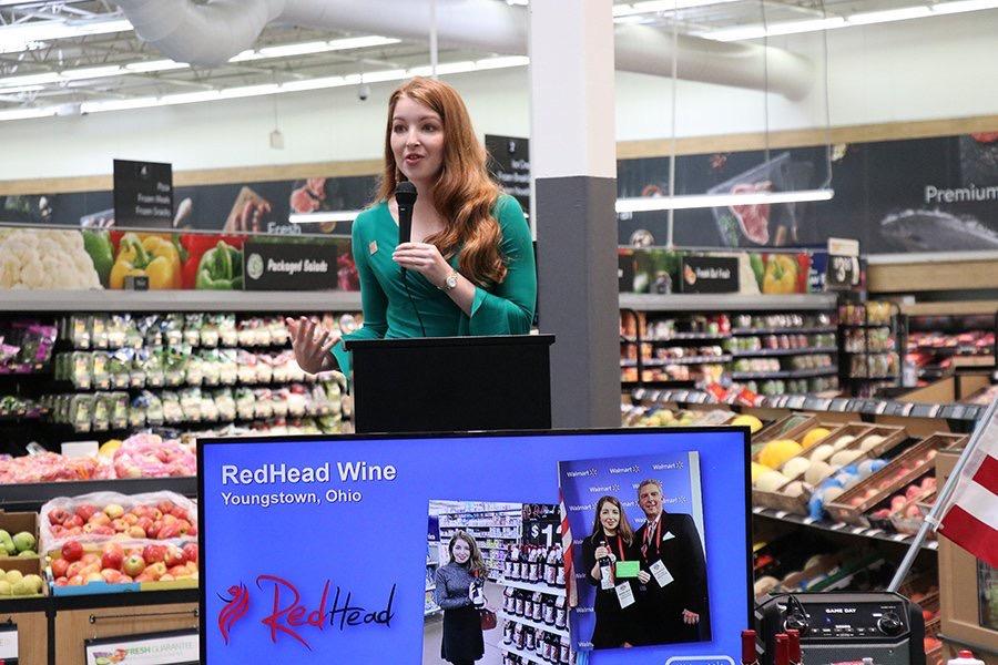 Marisa Sergi - RedHead Winemaker at Walmart #5185