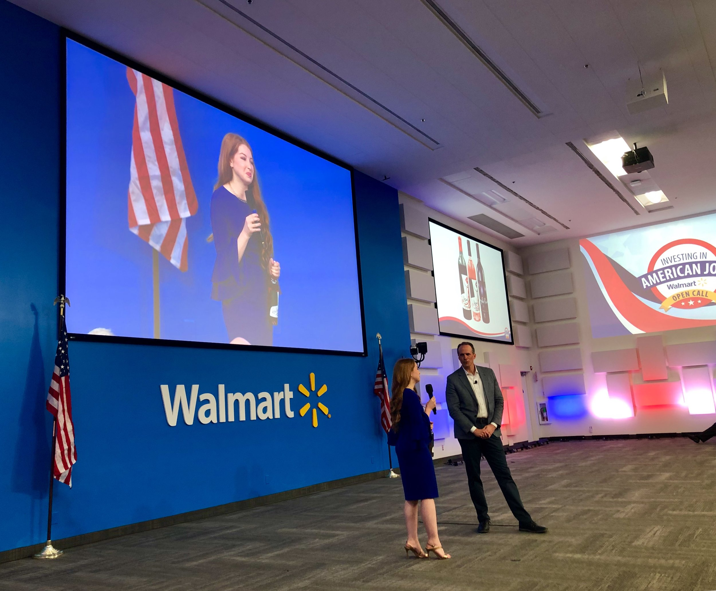 Winemaker, Marisa, speaking at Walmart Home Office June 2019