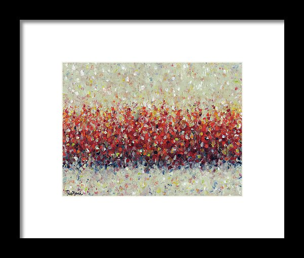 Red Run: Framed Fine Art Print on Paper at Fine Art America
