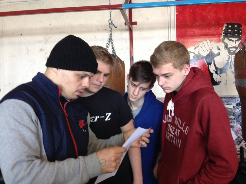 Team Hizo Kids Boxing Brighton