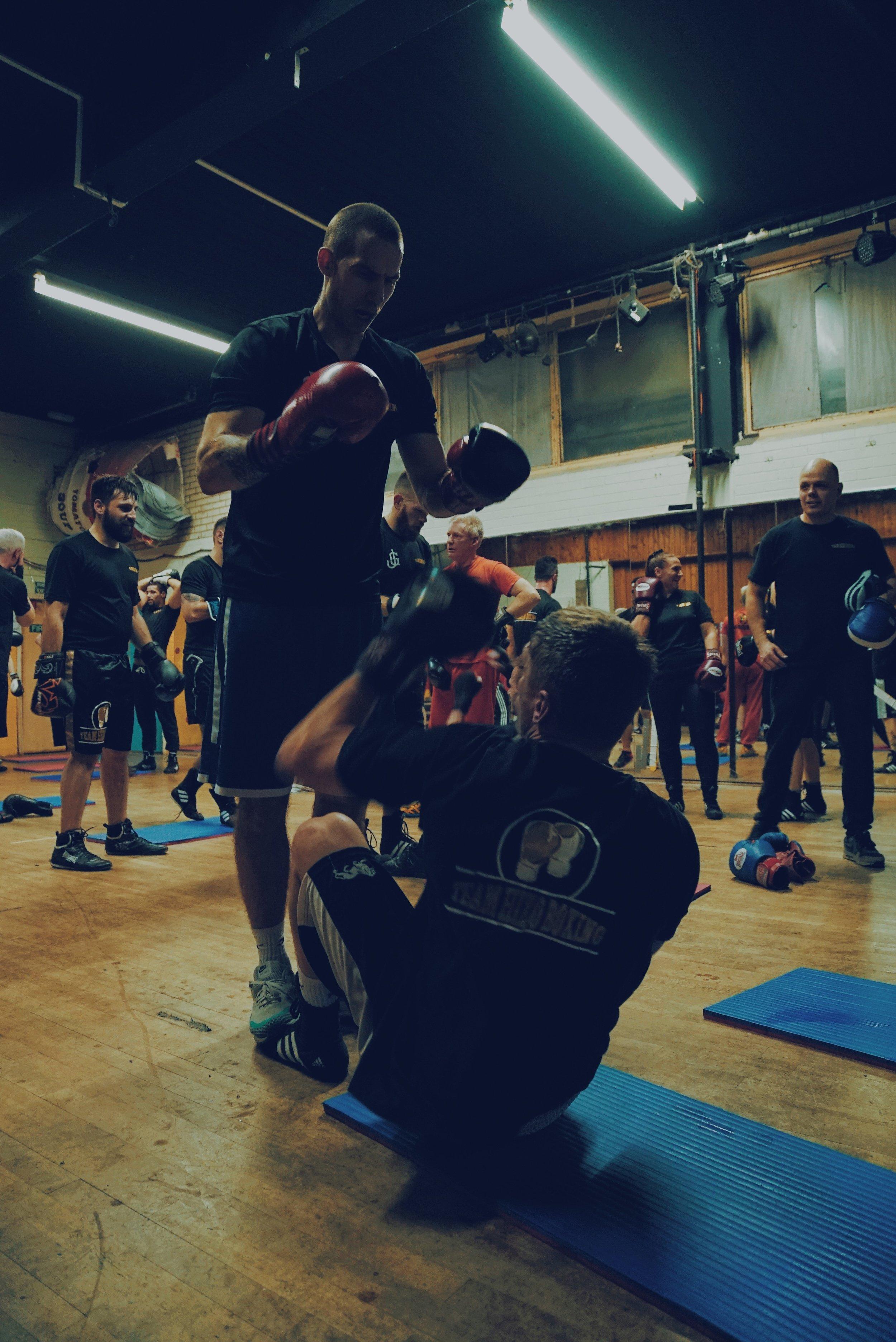 Team Hizo Sparring Classes Brighton