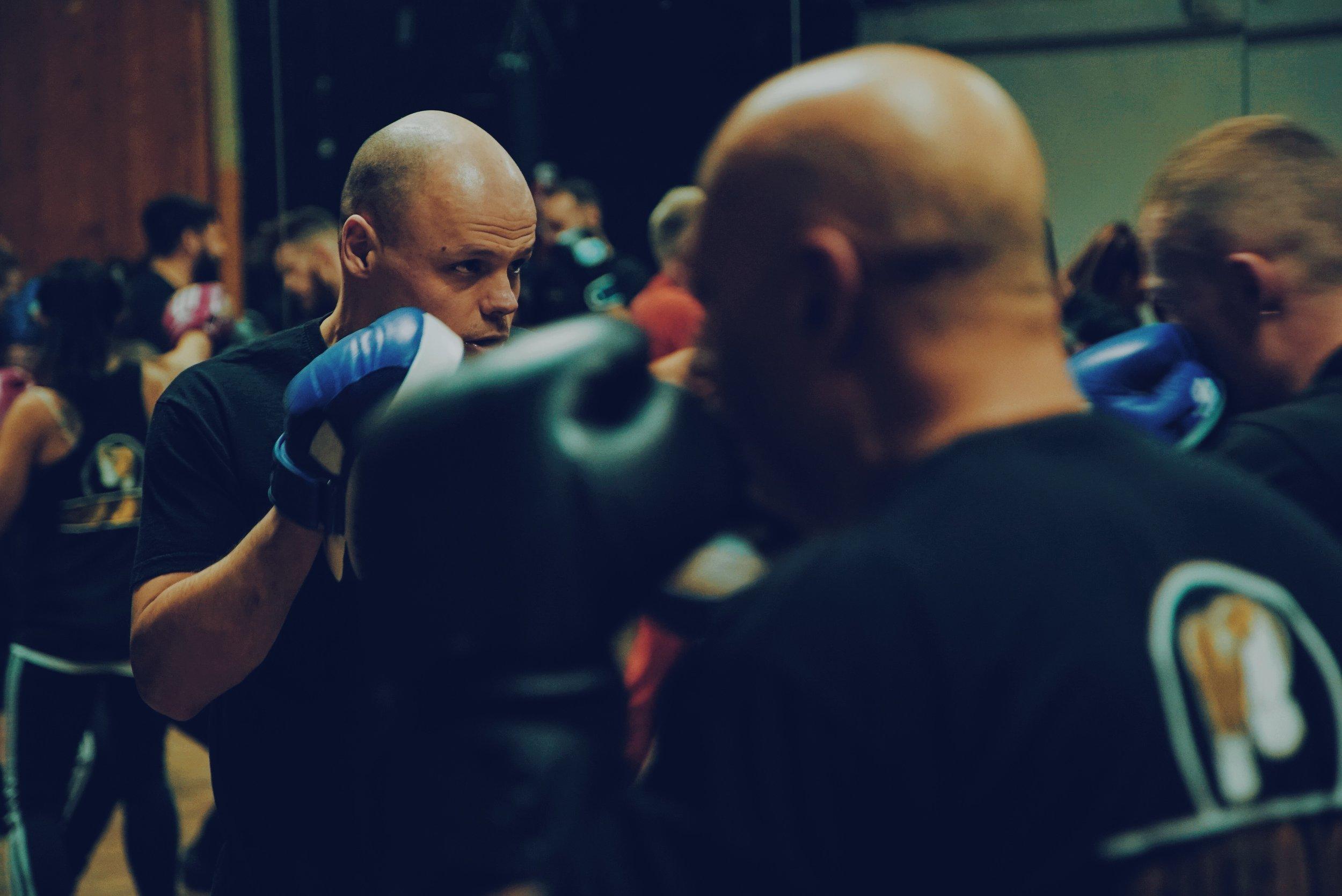 Team Hizo Boxing Class Brighton