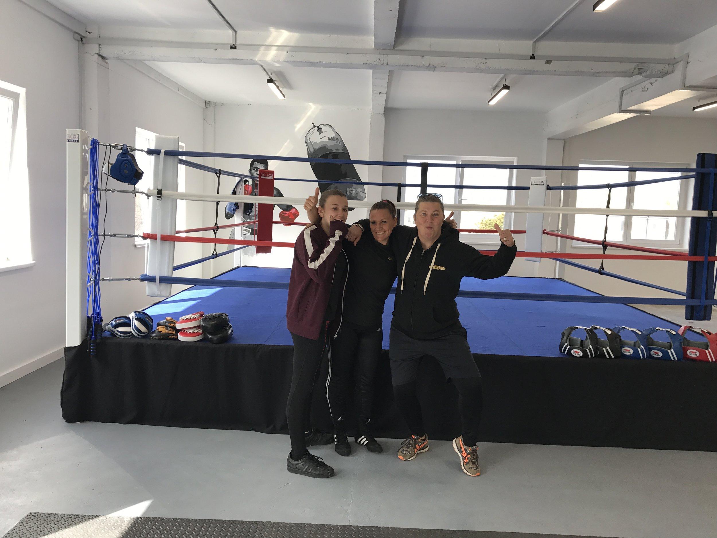 Team Hizo Boxing Sessions Brighton