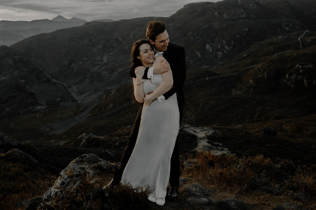 Trossachs wedding