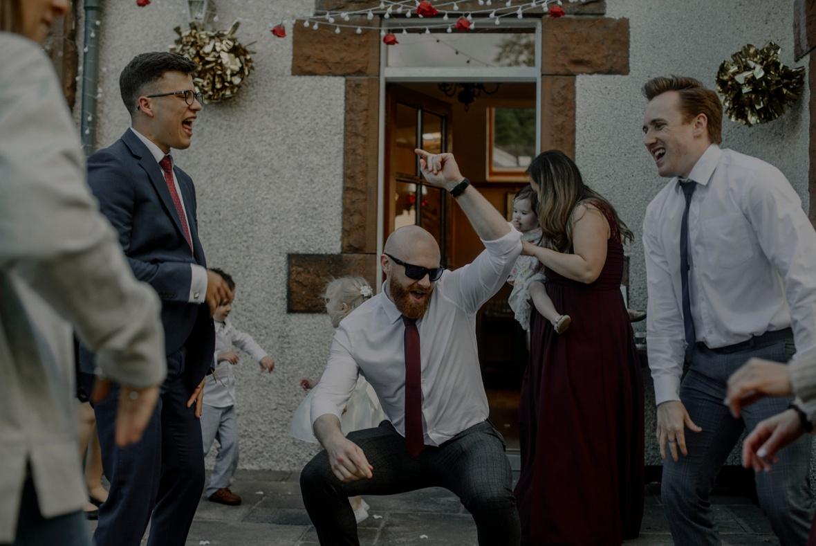 more dancing at wedding