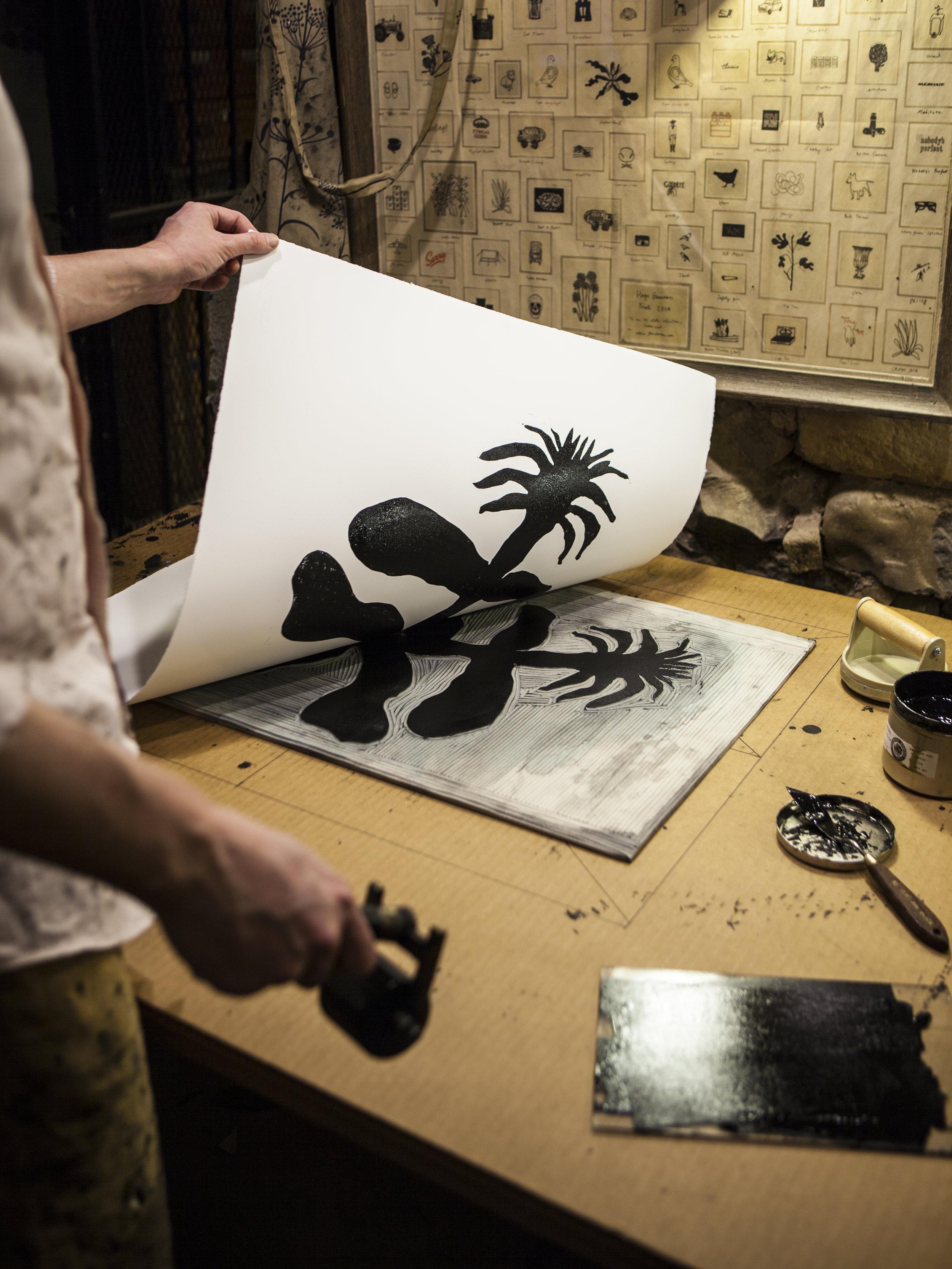 Hugo Guinness Prints Studio Brooklyn
