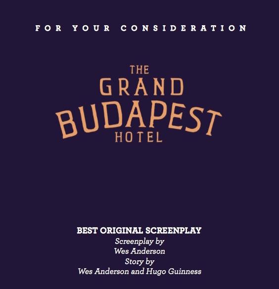 Grand Budapest Hotel Script