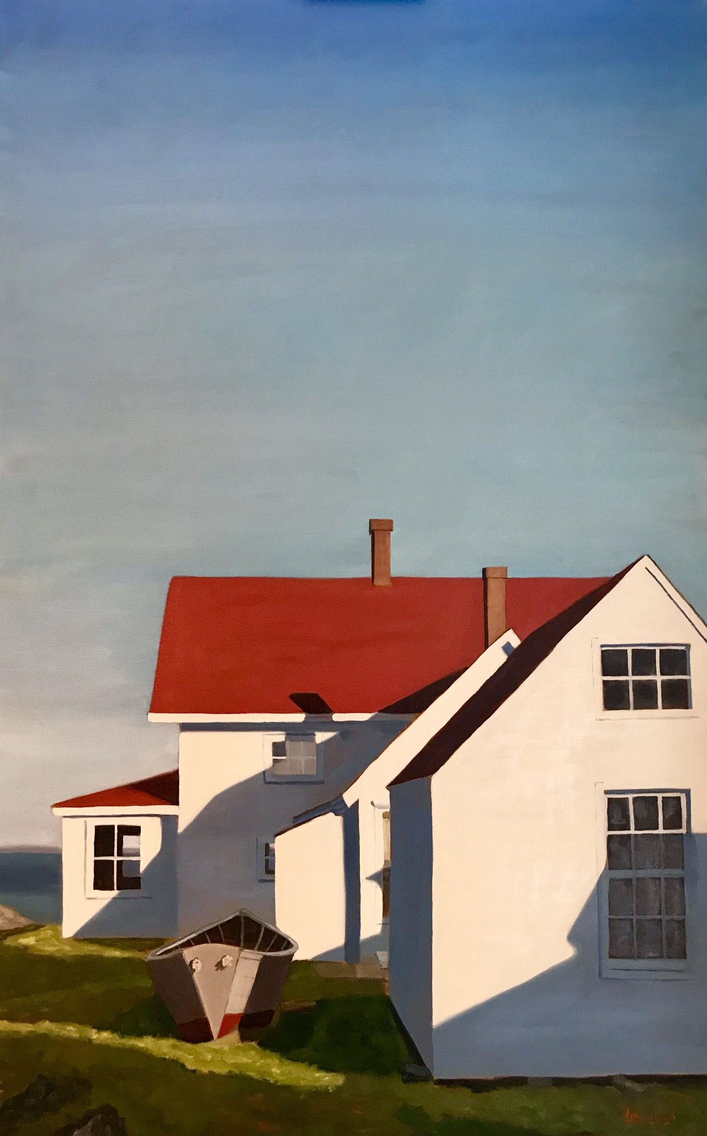 """- Debbie Mueller's painting """"Morning Geometry"""" has been awarded First Place in the Landscape division of Artist's Magazine Annual Art Competition for artists with less than six years of painting experience (Student Division). The painting will be featured in the December issue of Artist's Magazine."""