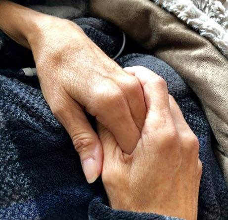 My Sister's Hands (the hands of Kodua Galieti). Image: by Renee Bennett