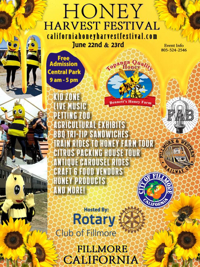 California Honey Harvest Festival - View EVENT Flyer
