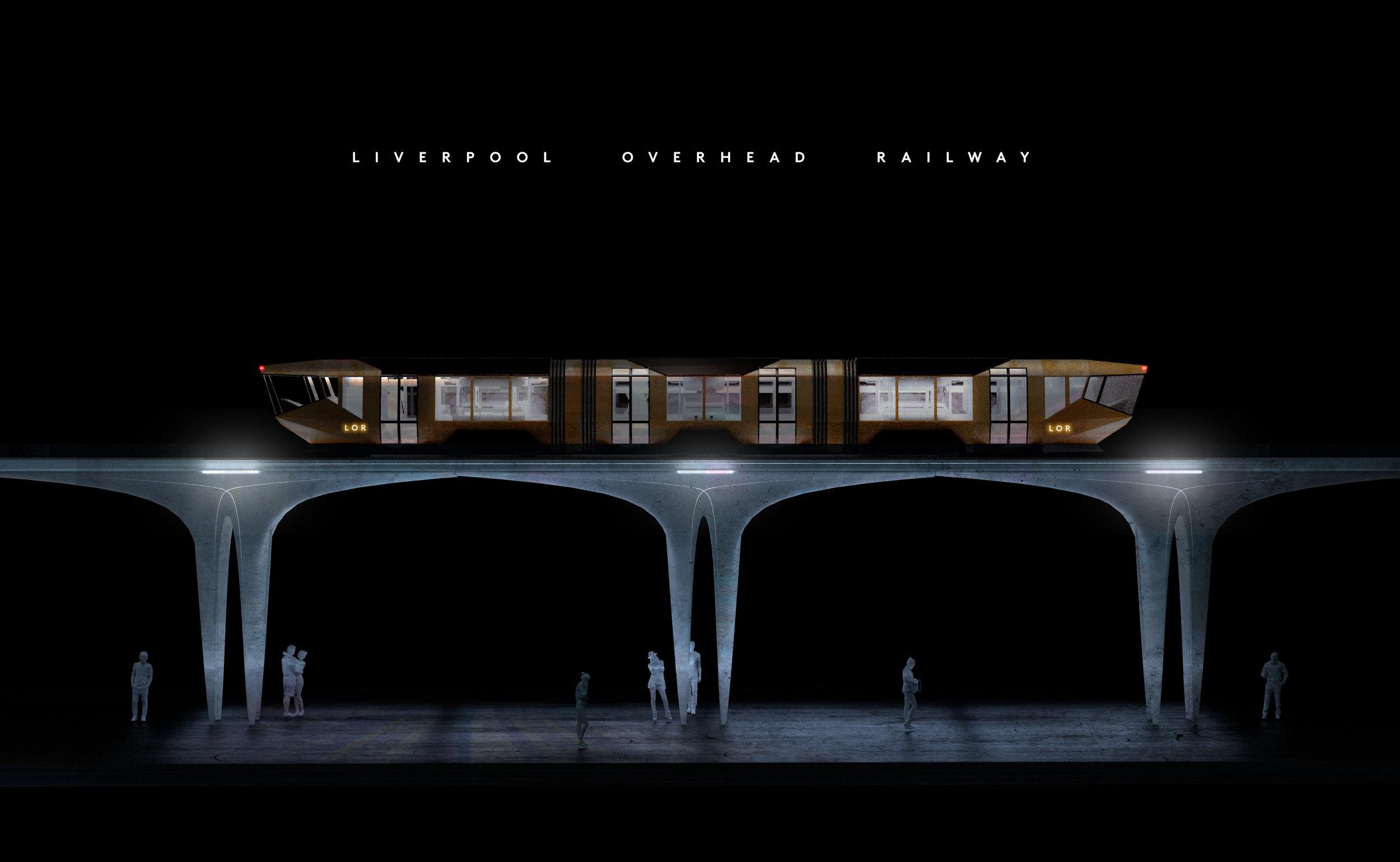 Liverpool Overhead Railway CGI Fantasist