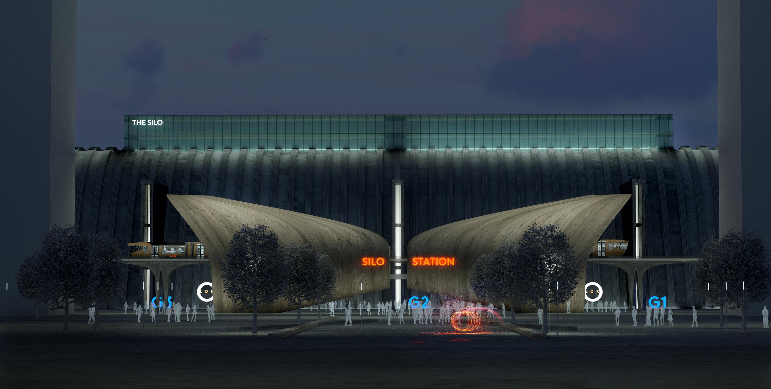 Liverpool Overhead Railway CGI Fantasist Silo