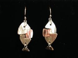 Silver Fish Earrings -
