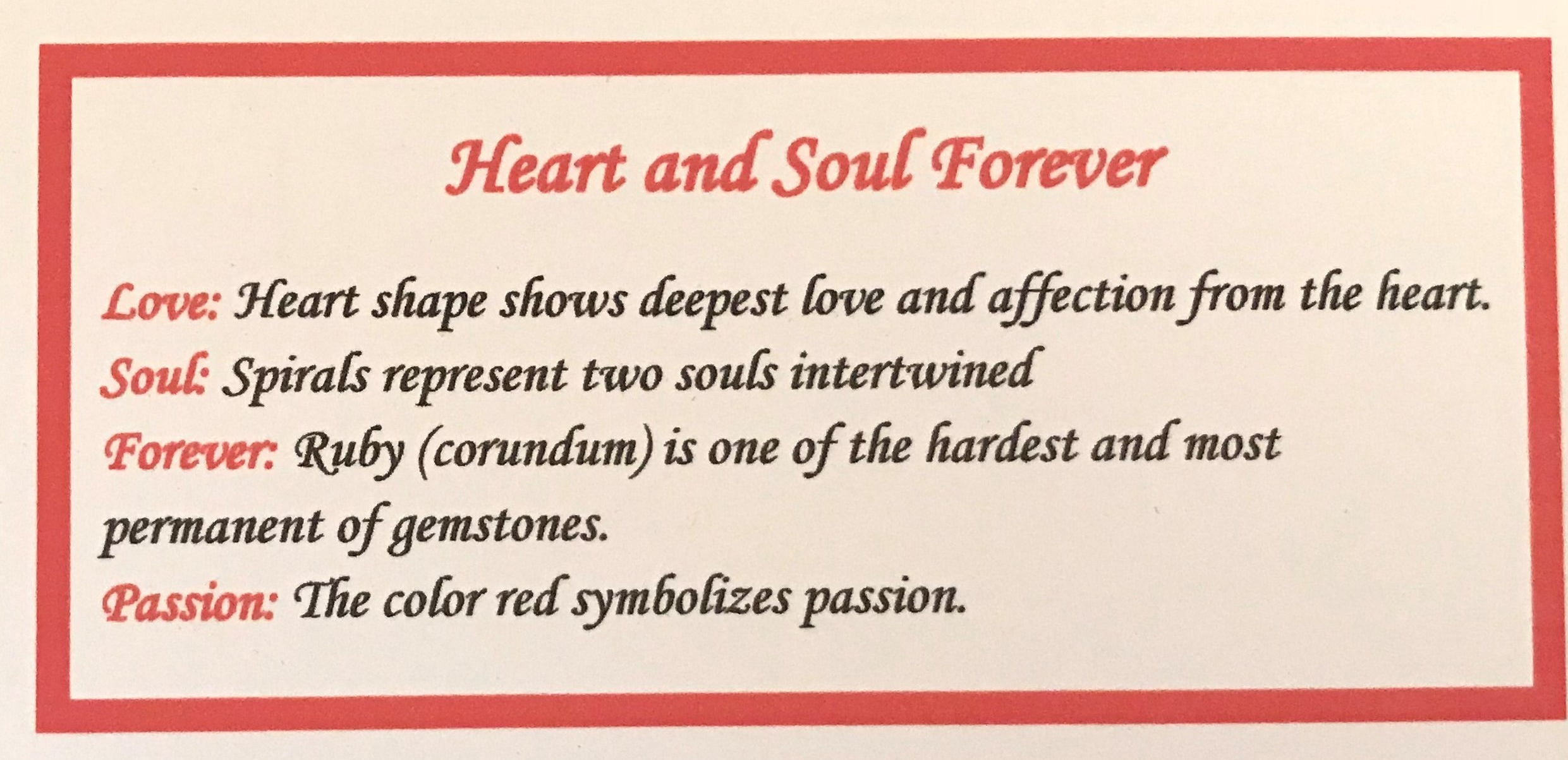 meaning of heart shape