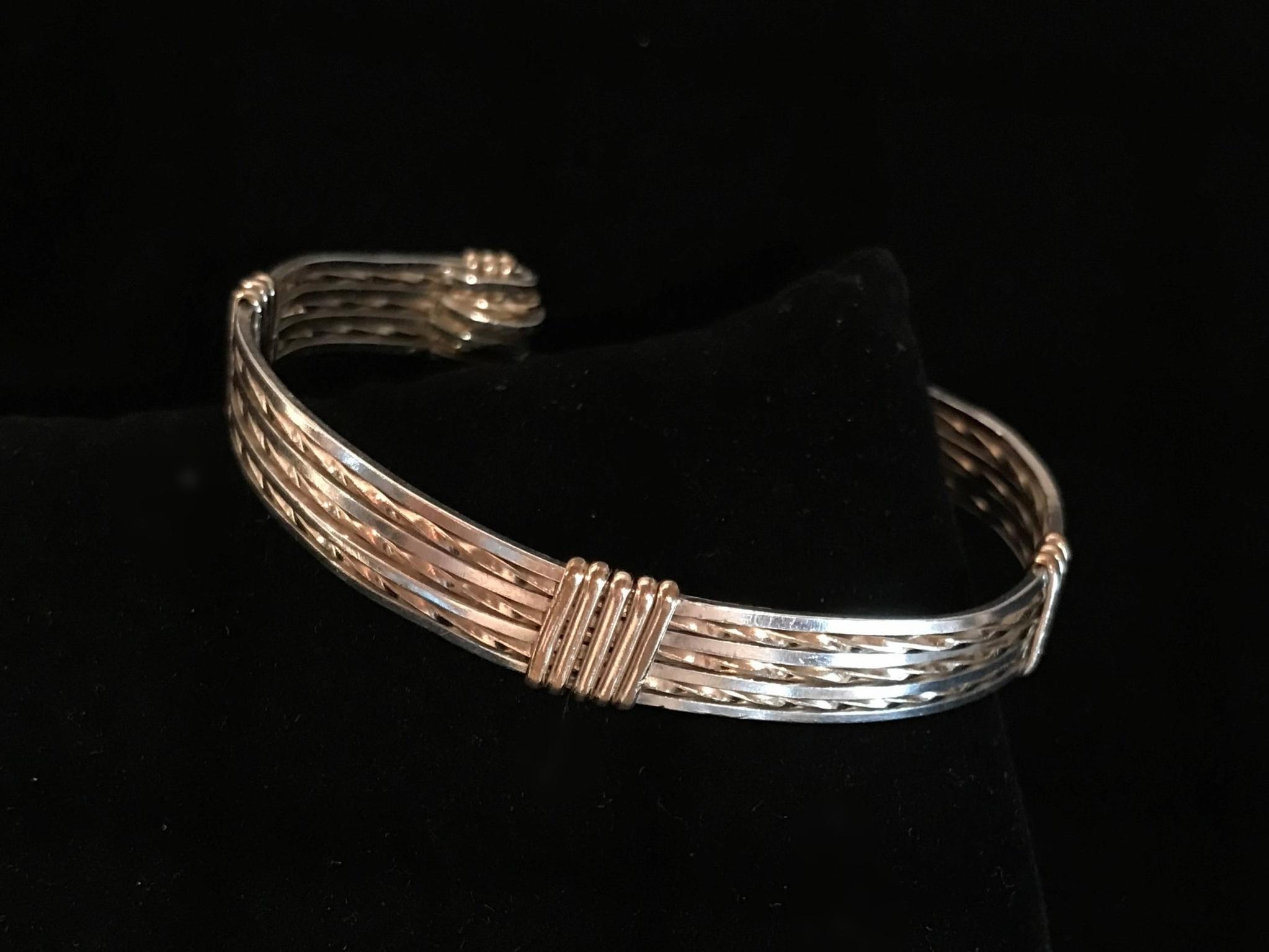 Wire Wrapped Bracelet