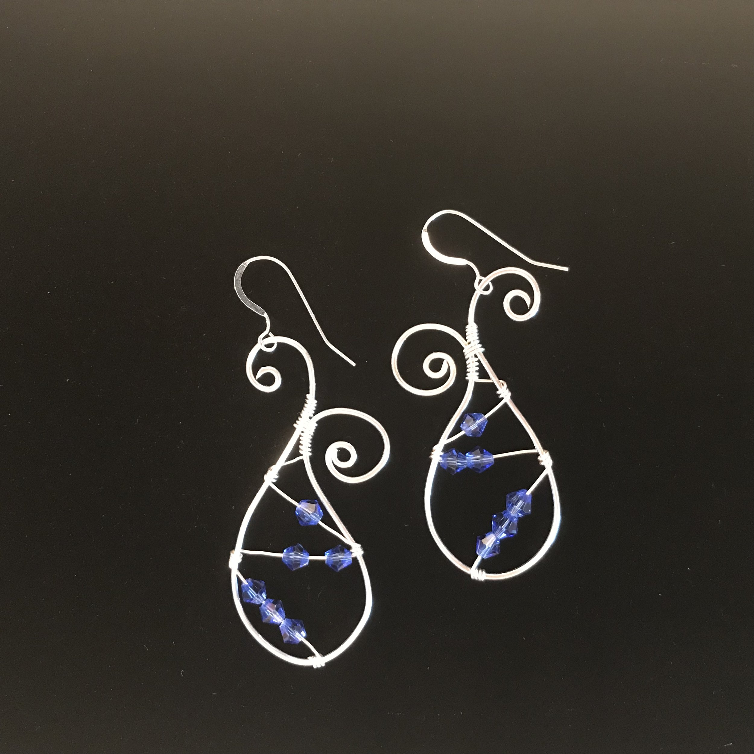 Trendy Paisley Pattern Earrings