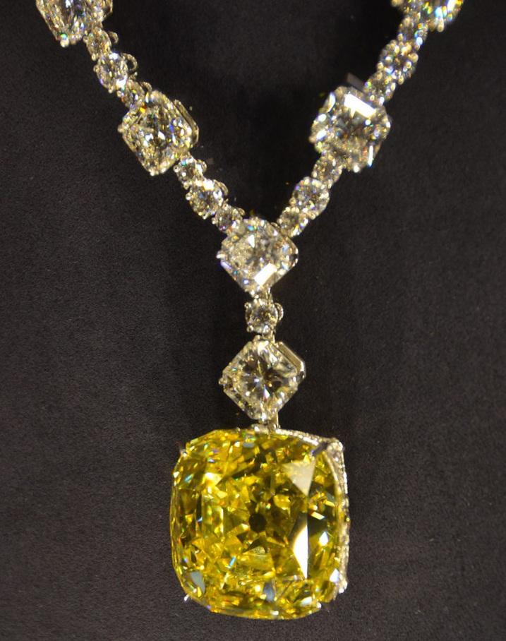The Yellow Tiffany Diamond worn by Lady Gaga at the 2019 Oscars has a rich history