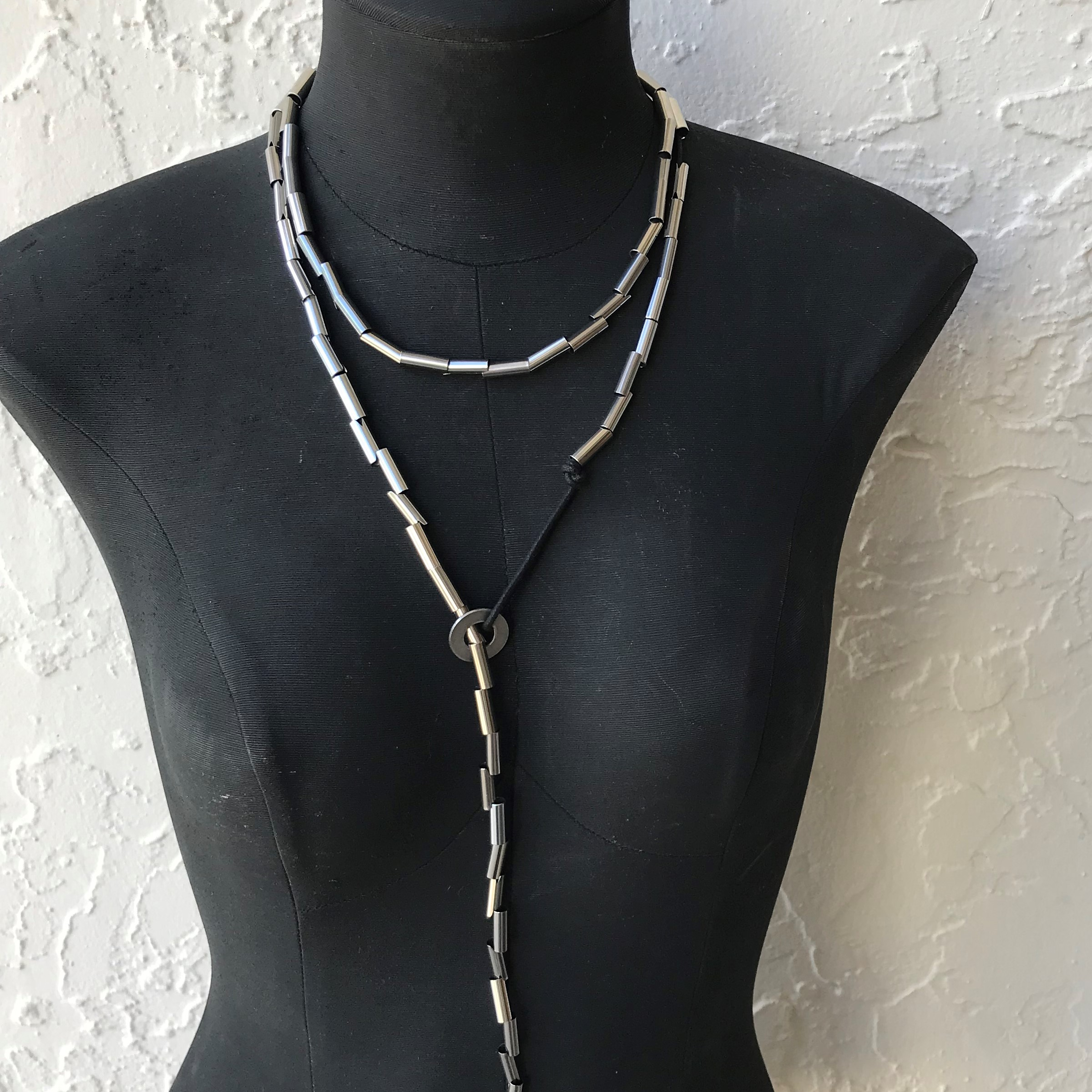 Snake Necklace Lariat
