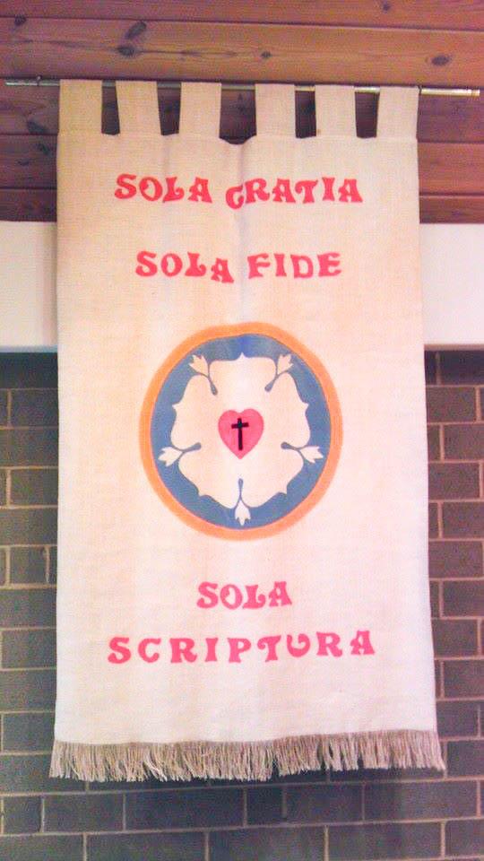 Grace Alone, Faith Alone, Scripture Alone