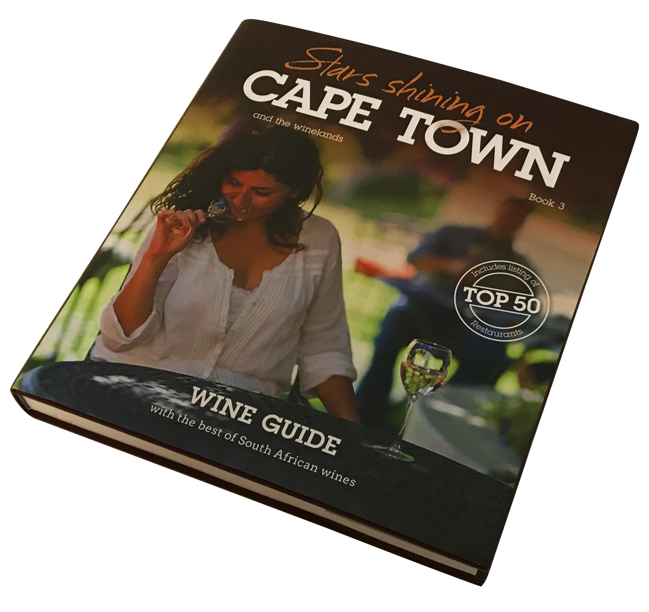 Stars Shining on Cape Town. The wine guide Produsert av Inkognito as. Utgitt av Pepper as, publishing Fotograf på flere av vinartiklene og miljøbilder