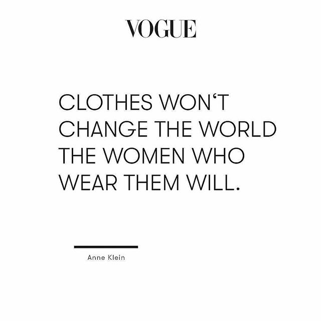 We couldn't agree more.  Repost @voguegermany