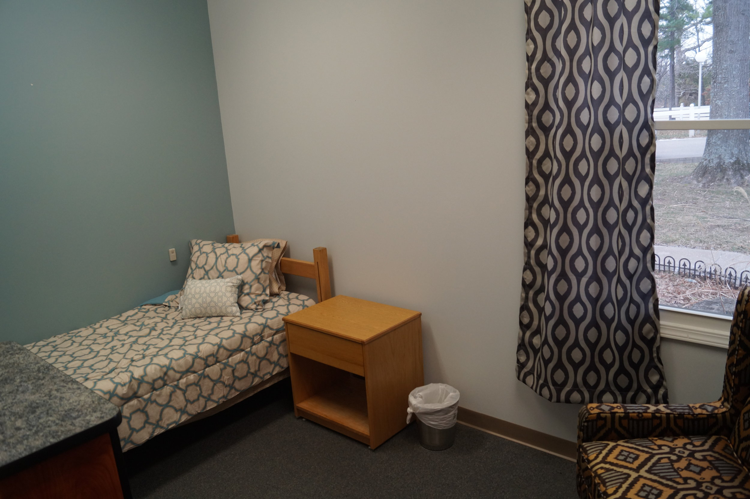 Another bedroom at the Sunnyhill Independence Center