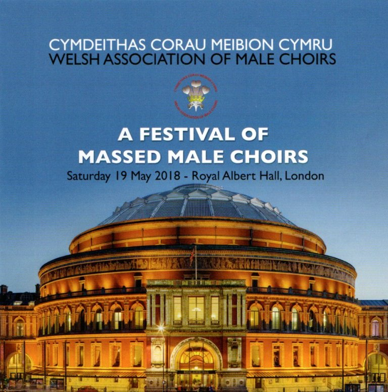 Festival of Massed Male Choirs - The recordings are just a sample of those made at the Royal Albert Hall and Manchester Arena concerts.If you wish to order CD's and DVD's of the concerts please contact us from HERE