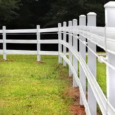 Flex and Vinyl Horse Fence