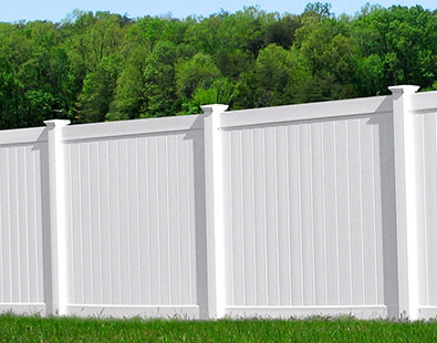 Heavy Duty Vinyl Privacy Fence